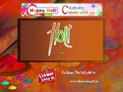 Send Gifts to India, Online Flowers Delivery in Mumbai -Holi