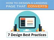 7 Design Best Practices For Landing Page that Converts