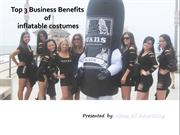 Top 3 Business Benefits of Inflatable Costumes