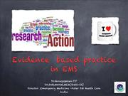 Evidence based Practice in EMS