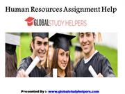 Human Resources Assignment Help by Global Study Helpers in Australia