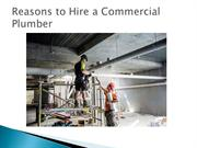 Reasons to Hire a Commercial Plumber