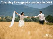 Best Wedding Photography sessions for 2016