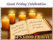 Good  Friday  Celebration 2016