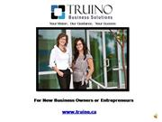 Truino - Planning for your Business