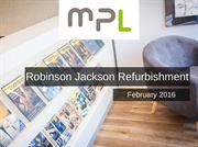 Robinson Jackson Estate Agents Refurbishment | MPL Interiors