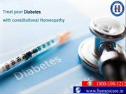 Homeopathy a key to control diabetes complications