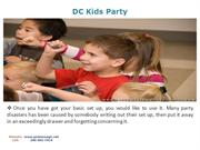 Kids Entertainment Party in VA