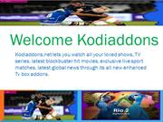 Tv series addons available at kodiaddons.net