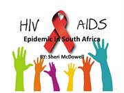 Epidemic in South Africa