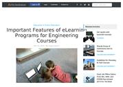 Important Features of eLearning Programs for Engineering Courses