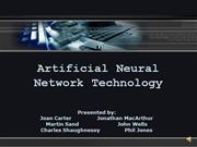 11.20 Artificial Neural Networks 1.2