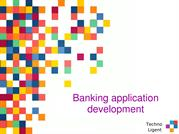 Outsource banking software development services