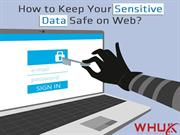 How to keep your sensitive data safe  on web