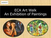 ECA conducts An Exhibition of Paintings