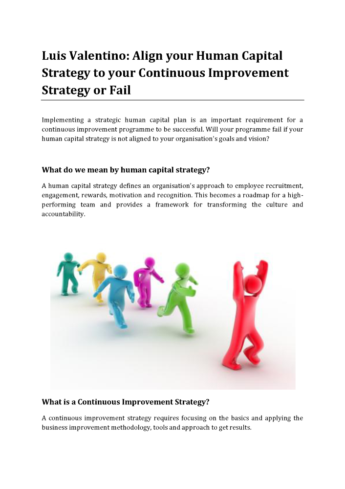 human capital strategic plan template - luis valentino states align your human capital strategy