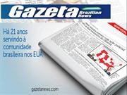 Gazeta Brazilian News - The Largest Brazilian Newspaper