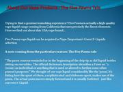 About Our Vape Products - The Five Pawns Tale