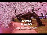 1-Mar 26-Spring flavors-I will always love you-Francis Goya guitar