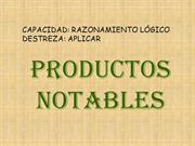 PRODUCTOS NOTABLES 1