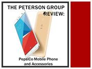 The Peterson Group Review PepsiCo Mobile Phone and Accessories