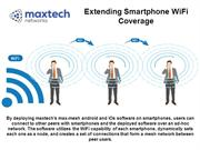 Maxtech Max-Mesh Android and IOs Architecture