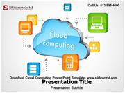 Download Cloud Computing Editable Powerpoint Template
