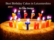 Best Birthday Cakes in Leicestershire