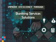 Banking services & consulting solutions includes cost optimization