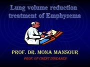 COPD Lung Volume Reduction