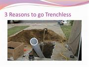 3 Reasons to go Trenchless