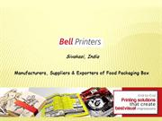 Food Packaging Box Manufacturers in India
