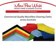 Importers and Wholesalers of Microfibre Cleaning Cloths