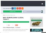 Why is marijuana illegal?