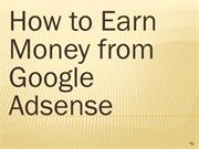 How to earn money from Google Adsense from Blog