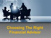 Choosing the Right Financial Advisor - Laura Dean Financial Solutions