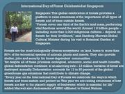 International Day of Forest Celebrated at Singapore