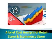 A brief Cost Analysis of Retail Store & Ecommerce Store