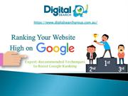 Why You Want Your Website To Rank Highly On Google