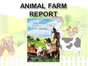 Animal Farm report