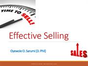 Effective Selling.ppt
