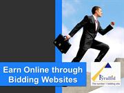 Earn Online through Bidding Websites