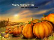 Free Thanksgiving PowerPoint Templates (