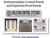 Instrumentation Control Panels and Explosion Proof Panels in Canada