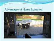 Advantages of Home Extension