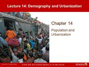 Lecture 14 - Demography