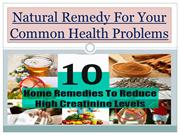 Natural Remedy For Your Common Health Problems