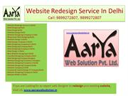 Website Redesign Service in Delhi, Website designing company Noida