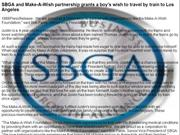 SBGA and Make-A-Wish partnership grants a boy