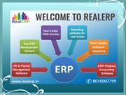 ERP Real Estate Software Solution